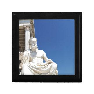 Statue of Greek philosopher Gift Box