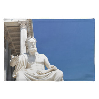 Statue of Greek philosopher Placemat