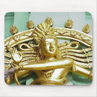 Statue of Hindu god Shiva Mouse Mat
