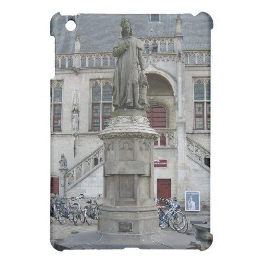 Statue of Jacob van Maerlant iPad Mini Covers