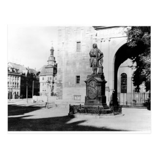 Statue of Johann Sebastian Bach Postcard