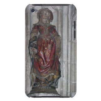 Statue of Judith (polychrome stone) iPod Touch Case