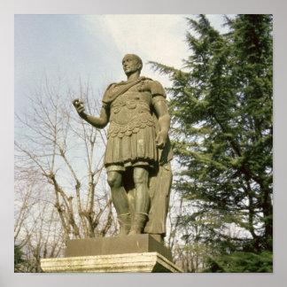 Statue of Julius Caesar Posters