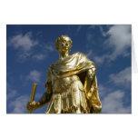 Statue of King Charles II Greeting Card
