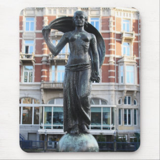 Statue of Lady Fortuna, Amsterdam Mouse Mat