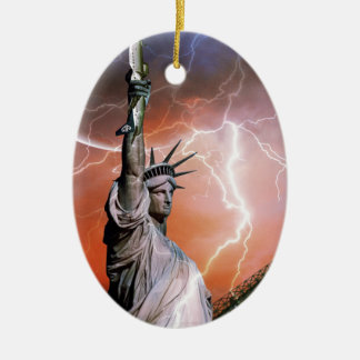 Statue of Liberty 12 Christmas Ornament