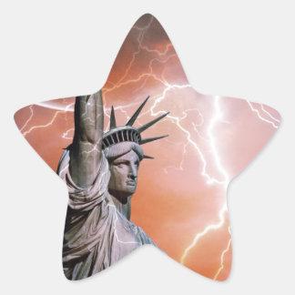 Statue of Liberty 12 Star Sticker
