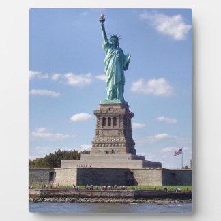 Statue of Liberty 13 Plaque