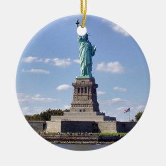 Statue of Liberty 13 Round Ceramic Decoration