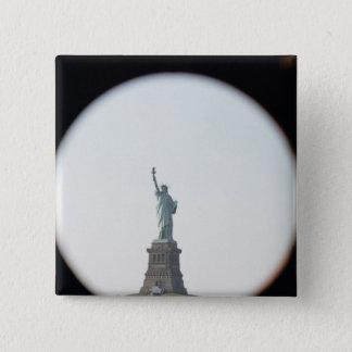 Statue of Liberty, 1886 15 Cm Square Badge