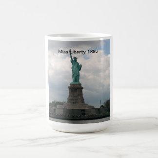 Statue of Liberty 1886 Basic White Mug