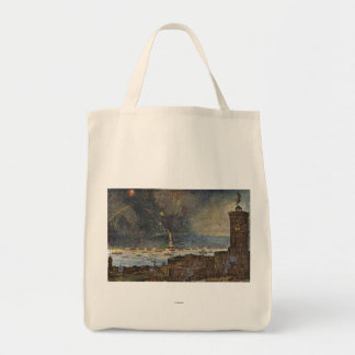 STATUE OF LIBERTY, 1886 GROCERY TOTE BAG