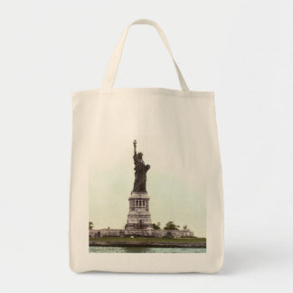 Statue Of Liberty, 1900 Grocery Tote Bag