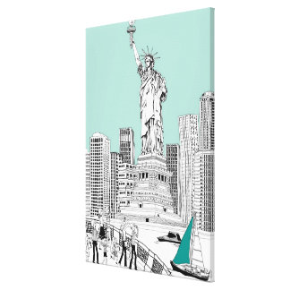 Statue of Liberty 2 Canvas Print