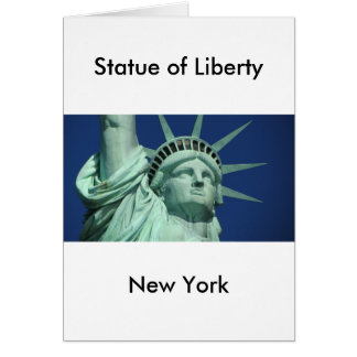Statue of Liberty 2 Card
