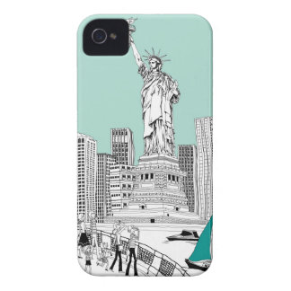 Statue of Liberty 2 Case-Mate iPhone 4 Cases