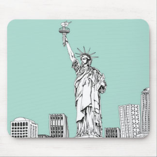 Statue of Liberty 2 Mouse Mat