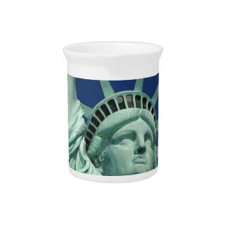 Statue of Liberty 2 Pitcher