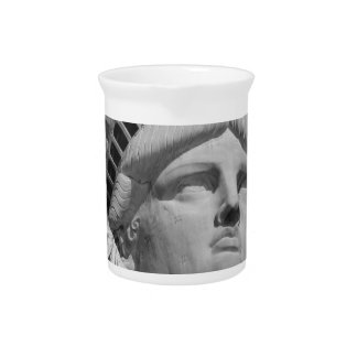 Statue of Liberty 2 Pitcher
