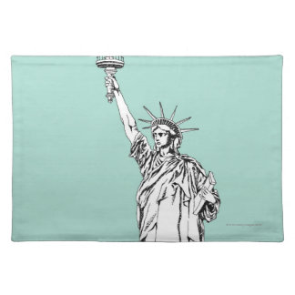 Statue of Liberty 2 Placemat