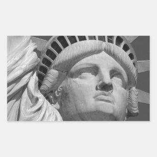 Statue of Liberty 2 Rectangular Sticker