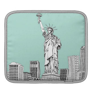 Statue of Liberty 2 Sleeve For iPads