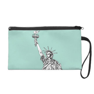 Statue of Liberty 2 Wristlet