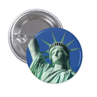 Statue of Liberty 3 Cm Round Badge