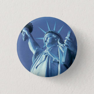 Statue of Liberty 3 Cm Round Badge