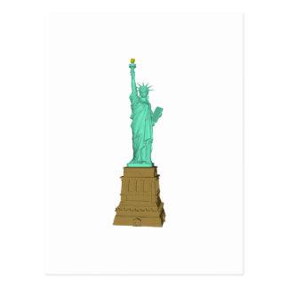 Statue of Liberty: 3D Model: Postcard