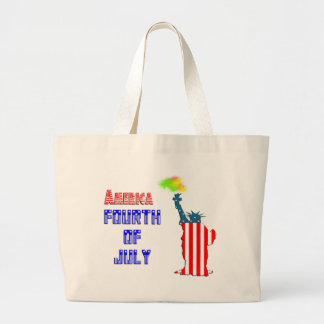 Statue of liberty 4th of July Bag