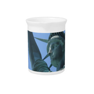 Statue of Liberty 5 Drink Pitcher