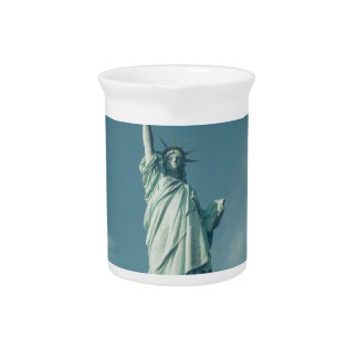 Statue of Liberty 6 Beverage Pitcher