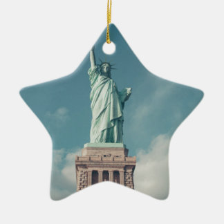 Statue of Liberty 6 Ceramic Star Decoration