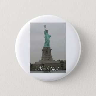 Statue of Liberty 6 Cm Round Badge
