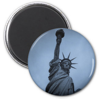 Statue of Liberty 6 Cm Round Magnet