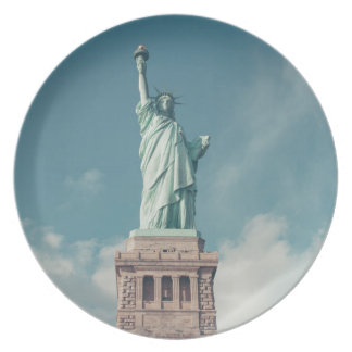 Statue of Liberty 6 Dinner Plate