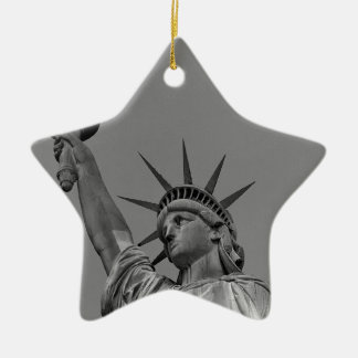 Statue of Liberty 7 Ceramic Star Decoration