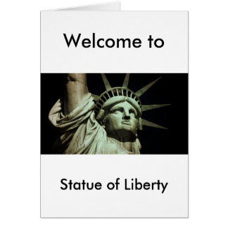 Statue of Liberty 8 Card