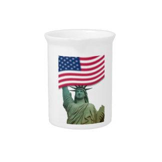 Statue of Liberty 9 Pitcher