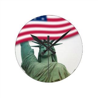 Statue of Liberty 9 Wall Clocks