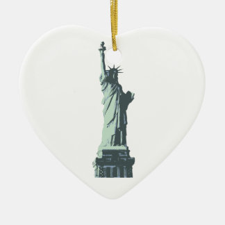 statue of liberty.ai christmas ornament
