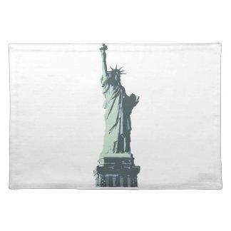 statue of liberty.ai place mat