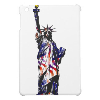 Statue Of Liberty American USA National Flag Indep iPad Mini Cases