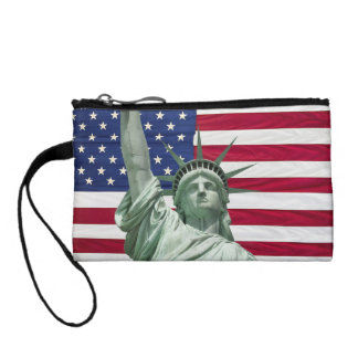 Statue of Liberty and American Flag Coin Purses