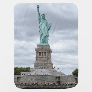 STATUE OF LIBERTY BABY BLANKET