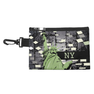 Statue of liberty bagette accessories bag