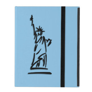 Statue of Liberty Blue iPad Cover