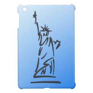 Statue of Liberty Blue iPad Mini Covers