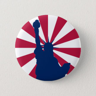 Statue of Liberty Button